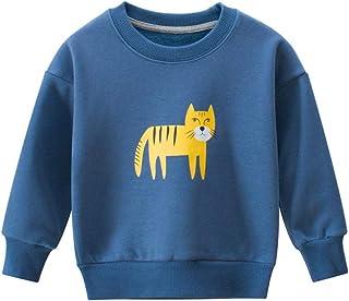 K-Youth Sudadera Niño de 1 a 9 Años Historieta Animal Ropa Bebe Niño Chandal Bebe Niño Invierno Abrigo Bebe Niño Otoño Rec...