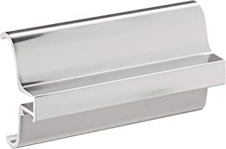 C.R. Laurence S0H334CH CRL Brite Chrome Slip-On Handle for 3/16