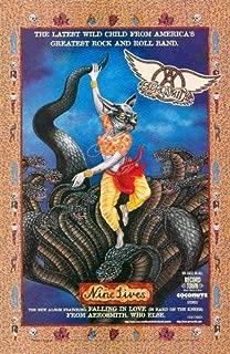 Aerosmith: Nine Lives: Controversial Sri Krishna Subduing Kaliya Hindu Cover Art: Great Original Print Ad!