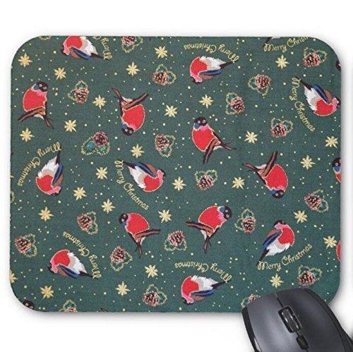 ゲームマウスパッド、ロビン鳥のクリスマス印刷用マウスパッド
