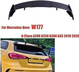 WXQYR 1 unid//Set Fibra de Carbono Car Maletero Maletero Separador de Aire Spoiler de Cola para Mercedes Benz C63 W205 C205 2015 C Clase C250 C300 C350 Accesorios del Coche