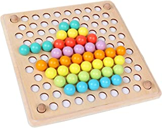 Wooden Beads Game Montessori Education Early Education Children Clip Ball Puzzle Kindergarten Toddler Toys Children Gifts