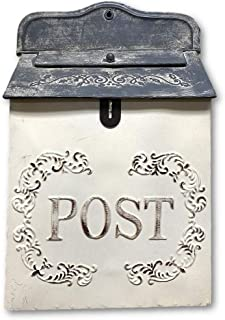 The Nifty Nook I Vintage Style Post Box I Nostalgic Charm Home Decor I Farmhouse Design I..
