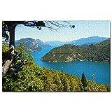 Argentina Nahuel Huapi National Park San Carlos De Bariloche Puzzle 1000 Piezas para Adultos Familia Rompecabezas Recuerdo Turismo Regalo