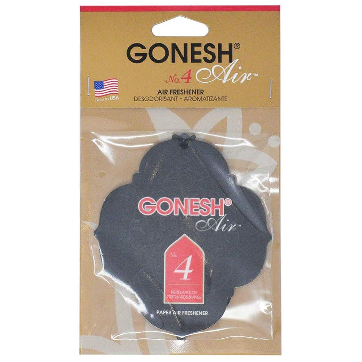 洗剤ベルベットはっきりとGONESH ペーパーエアフレッシュナー NO.4