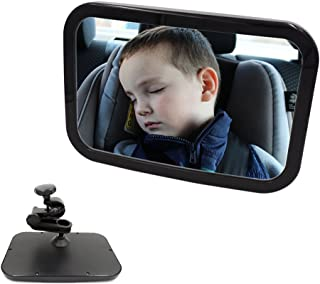 baby car seat mirror for fixed headrest