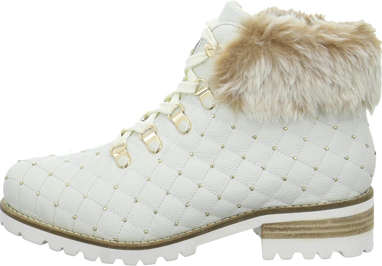 Tizian Women Ankle Boots Boston 03 White, (offwhite) T62903PL873 010
