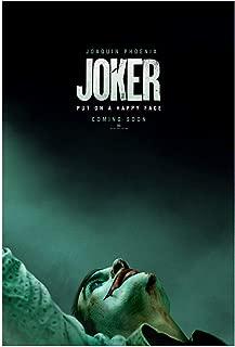 Joker 2019 Original Double Sided Movie Poster 27x40 Authentic Joaquin Phoenix