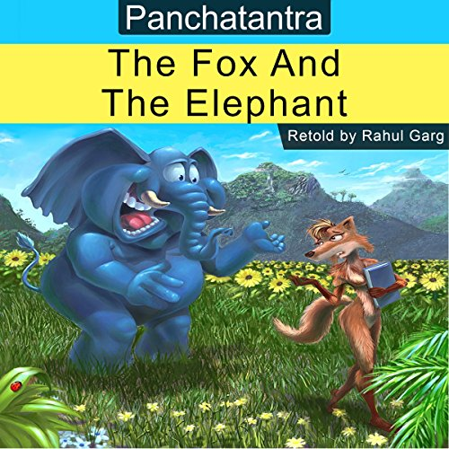 The Fox and the Elephant audiobook cover art