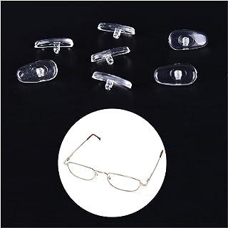 LQHZ Coussinets de Nez 50 Paires de Nez de Nez de Silicone Clair pour Lunettes Nez Coussins Lunettes Accessoire Nez Doux C...