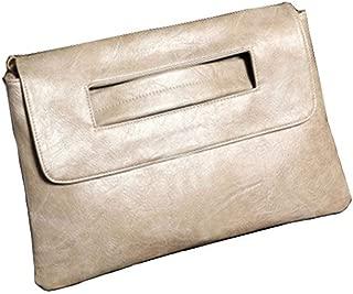 Nobile avambraccio Clutch borsa elegante in pelle 5 COLORI borsa da sera party bag