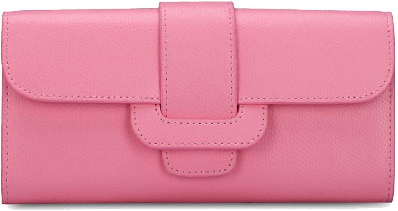 BFMEI Damen Geldbörse Stilvolle Große Kapazität PU Multi-Slot-Taste Hand Brieftasche Geldbörse Tasche Karte B078VC28TG