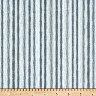 white striped chenille fabric