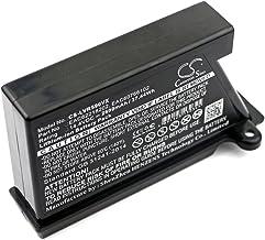 EAC60766107 para aspiradora robot de limpieza INTENSILO bater/ía reemplaza LG EAC60766104 3400mAh, 14.4V, Li-Ion EAC60766105 EAC60766106