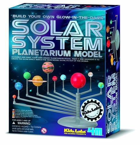 4M 663257 – Système Solaire Planetarium Kit de Bricolage