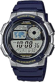 ساعة رقمية كاجوال للرجال بسوار من الراتنج من كاسبو - AE-1000W-2AVDF