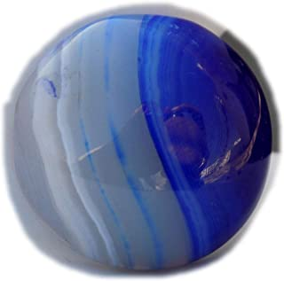 The Best Jewellery Purple Botswana Agate cabochon, 27Ct Natural Gemstone, Round Shape Cabochon For Jewelry Making (22x22x6...