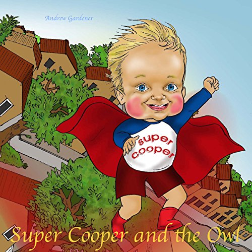 Super Cooper and the Owl audiobook cover art