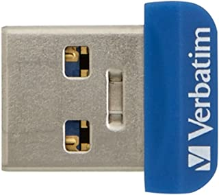 Verbatim 98709 Store 'N' STAY NANO Memoria USB portatile, blue