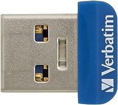 Verbatim 16GB Store 'n' Stay Nano USB 3.0 Flash Drive - Blue