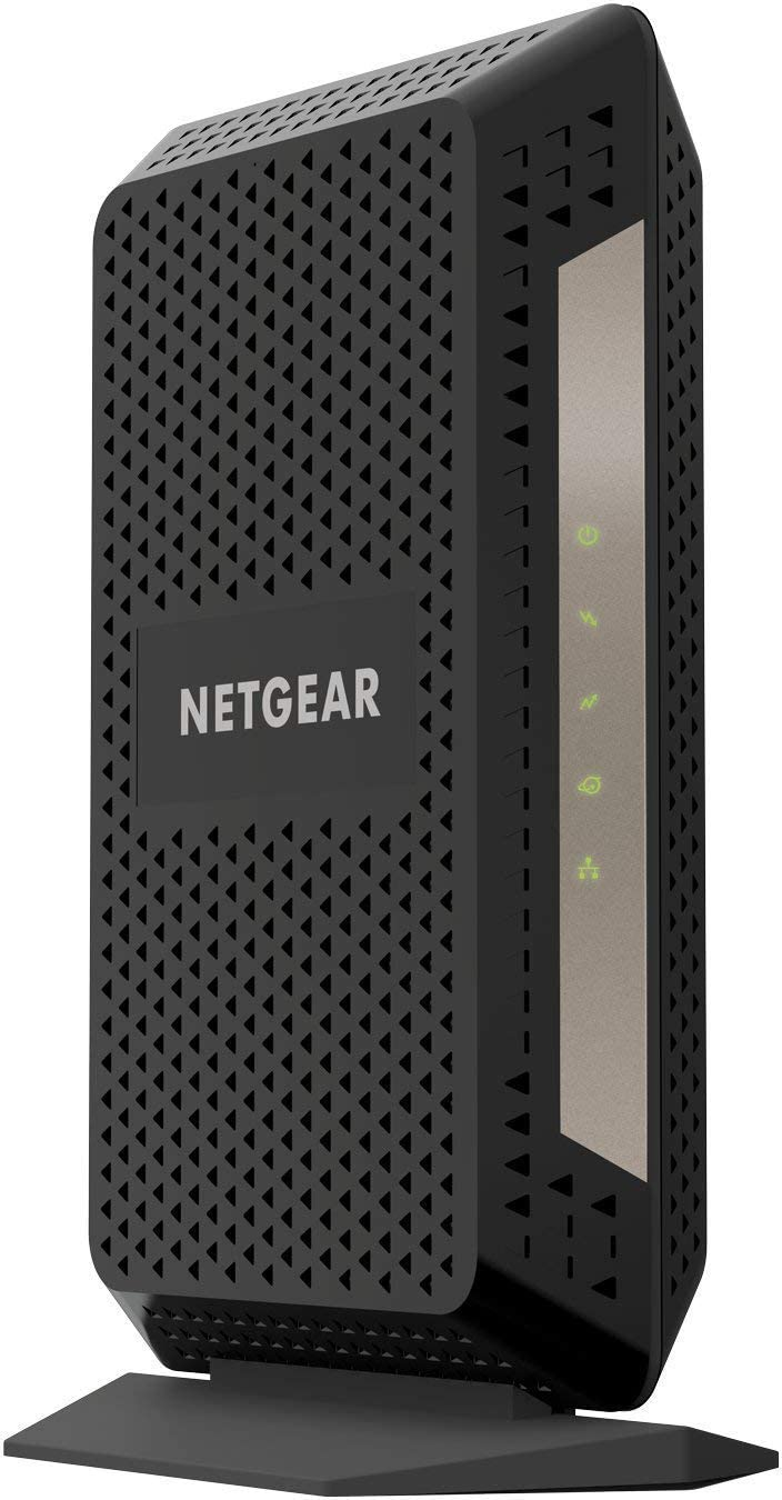 NETGEAR Gigabit Cable Modem (32x8) DOCSIS 3.1   for XFINITY by Comcast, Cox. Compatible with Gig-Speed from Xfinity - CM1000-1AZNAS (Renewed)
