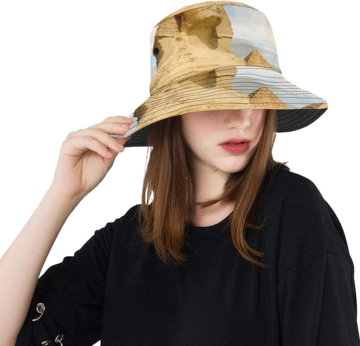 Direct stock discount Travel Sun Hat Magnificent Ancient Summer Purchase Egyptian Unise Pyramid
