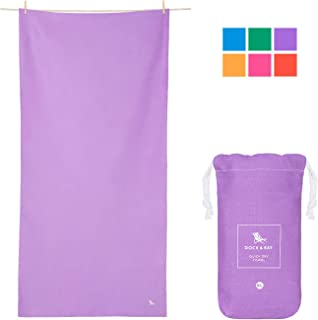 Microfibre Towel Backpacking Gear - Gym Towel & Workout Towel (Extra Large XL 78x35, Large 63x31, Small 40x20) for Travel, Gym, Yoga, Sports, Swim, Camping, Pool, Swim, Beach