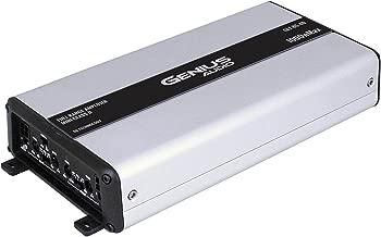 Genius GLT-85.4D 1000 Watts-MAX Mini Compact Car Full Range Amplifier 4 Channel Class-D 2-Ohm Stable