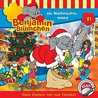 Benjamin als Weihnachtsmann (Benjamin Blümchen 21) Hörbuch