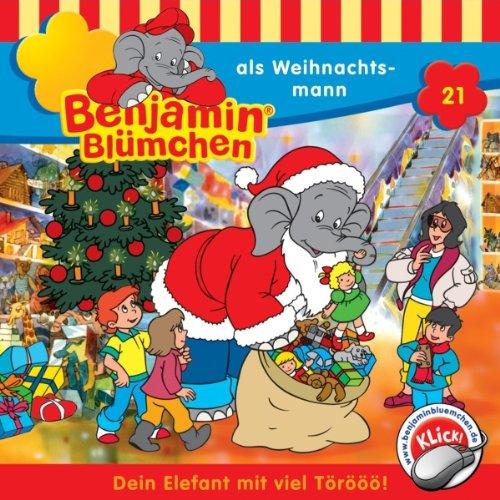 Benjamin als Weihnachtsmann audiobook cover art
