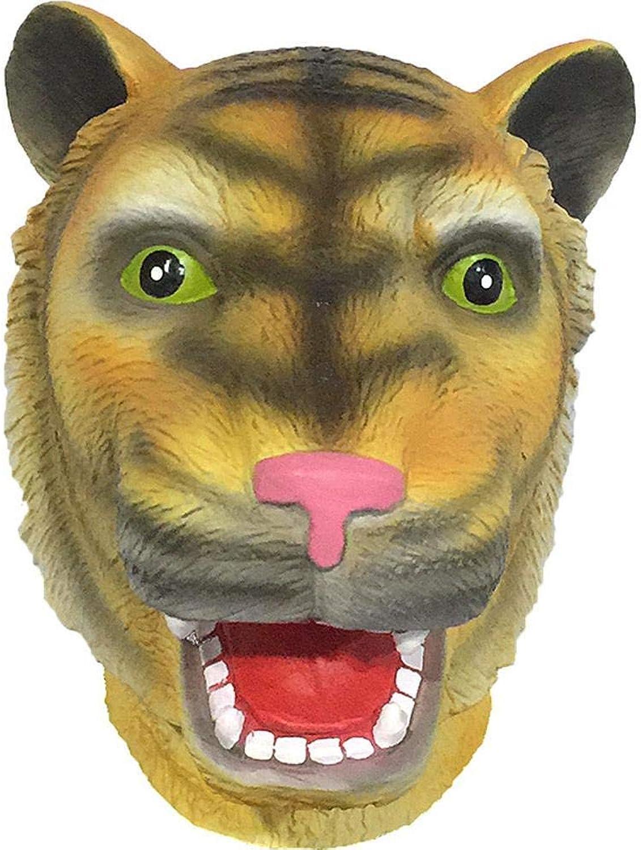 Littlefairy Masken für Erwachsene,Cartoon Tiger Maske Latex Leistung Perücke Halloween Horror Streich Requisiten B07J5D2TFT Authentische Garantie   ein guter Ruf in der Welt
