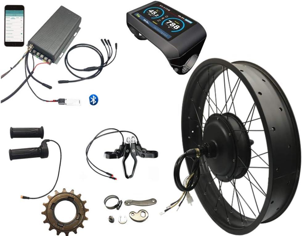 NBpower 5000w Electric National uniform free shipping Fat Bike Conversion New item kit Controll sabvoton