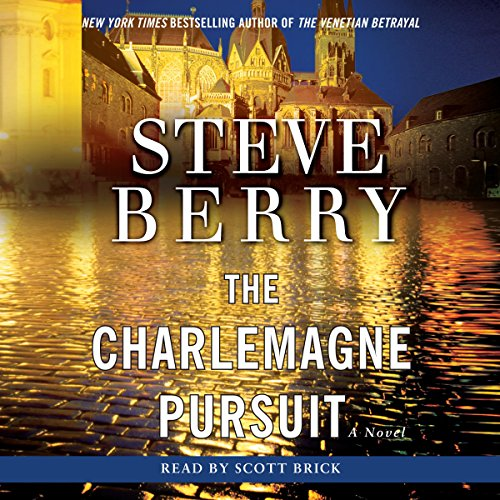 The Charlemagne Pursuit audiobook cover art