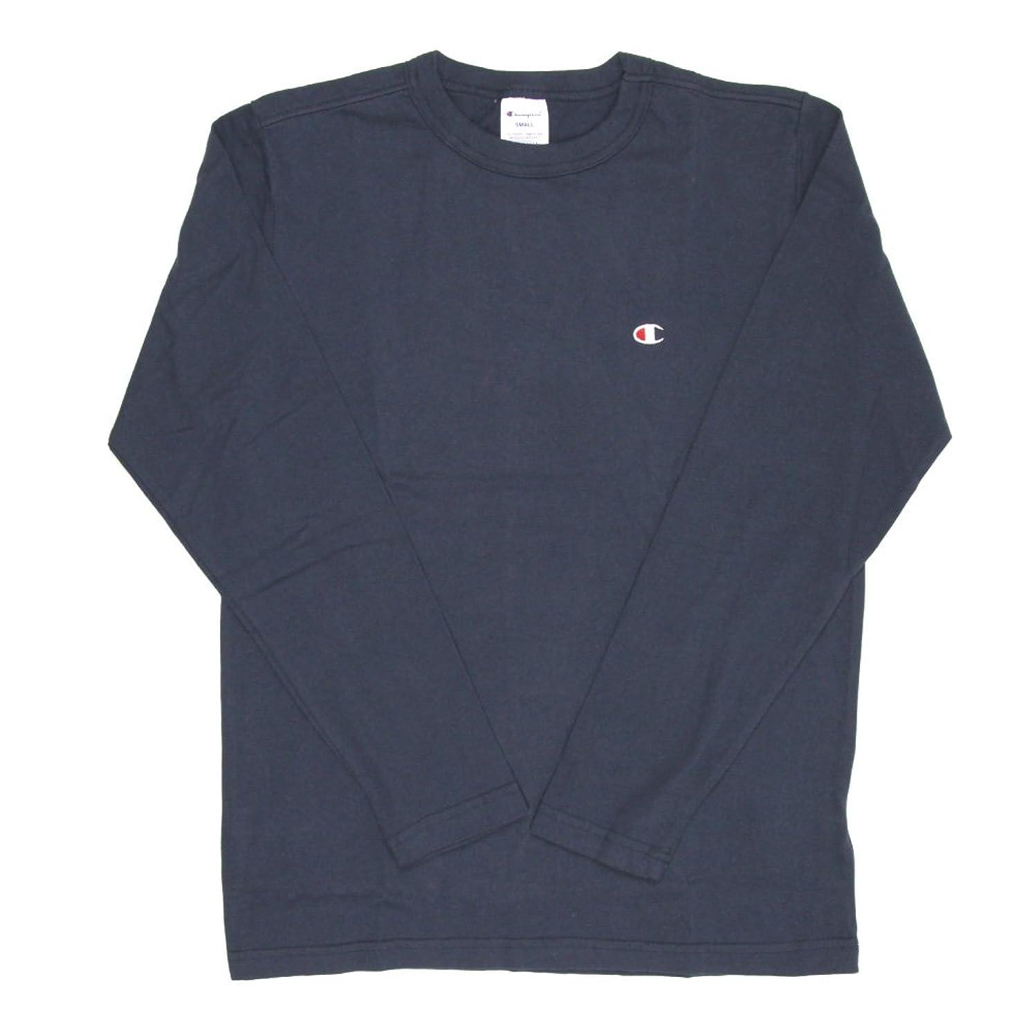 貝殻三エレガント(チャンピオン) Champion ロングスリーブ Tシャツ ロンT カットソー ワンポイント メンズ レディース C3-P401