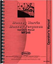 New Operators Manual Made For Massey Ferguson MF 245 Tractor