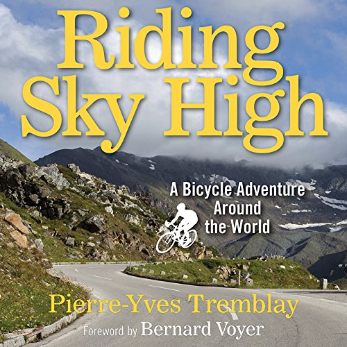 Riding Sky High audiobook cover art
