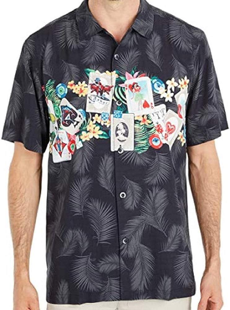 Tommy Bahama Jackpot Fronds Silk Camp Shirt