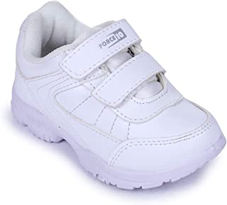 Liberty Force 10 (from Unisex White School Shoes - 13 Kids UK/India (32 EU) (8151026110320)