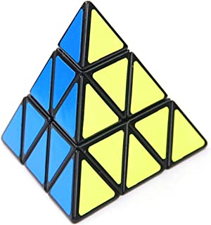 Honmofun ADHD Fidget Toys ADHD Supplements for Kids Pyramid Cube Pyramid Cube Puzzle Pyramid Speed Cube Pyramid Speed Cube Magic Cube Puzzle Toys 3D Puzzle 3x3