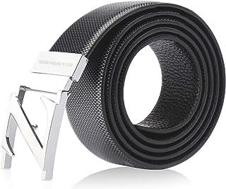 Demon&Hunter BBL Series Hombre Cinturón Correa Cuero Genuino Anchura 33mm
