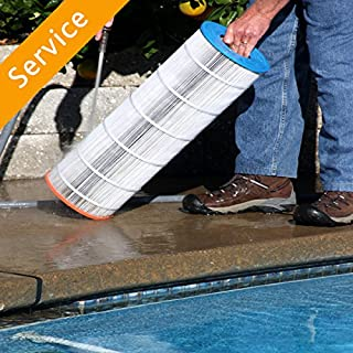 Swimming Pool Filter Cleaning
