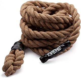 GSE Games & Sports Expert Sisal Gym Fitness Training Climbing Ropes (6ft to 50ft Available)