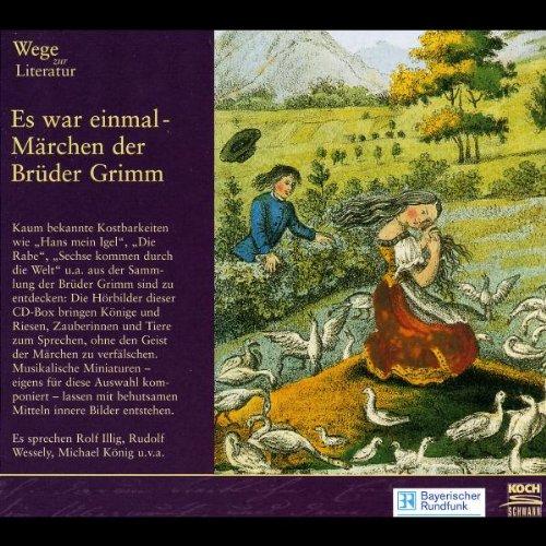 Wege zur Literatur, Audio-CDs, Es war einmal - Märchen der Brüder Grimm, 3 Audio-CDs