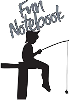 Fun Notebook: Boys Books - Mini Composition Notebook - Ages 6 -12 - Fishing for Kids