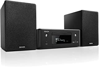 Denon CEOL N-11DAB Compact System, HiFi Amplifier with Speakers, CD Player, Music Streaming, HEOS Multiroom, Bluetooth, Wi...