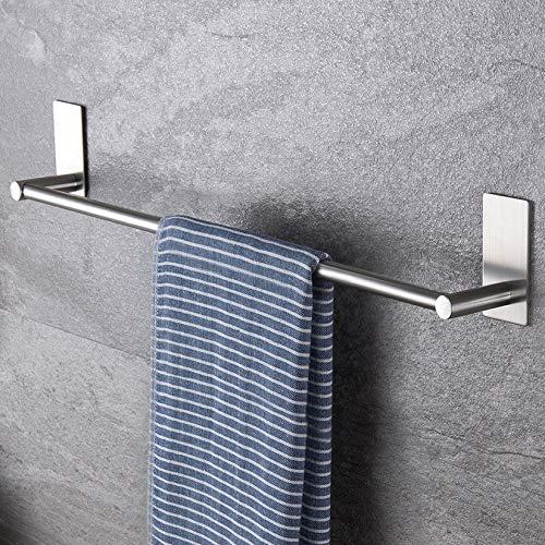 ZUNTO Toallero de Baño Adhesivo Sin Taladro Toalleros Barra Para Baño Acero Inoxidable 40cm