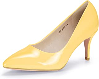 Women's Classic High Heels Dress Wedding Pumps Closed Pointed Toe Prom Party Shoes