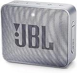 JBL GO 2 - Altavoz inalámbrico portátil con Bluetooth, resistente al agua (IPX7), hasta 5 h de reproducción con sonido de alta fidelidad, gris