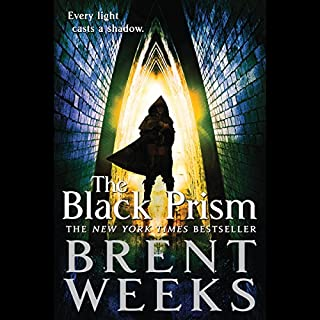 The Black Prism audiobook cover art