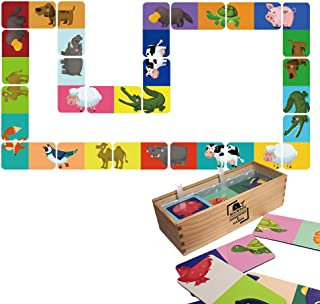 Marine Life Sea Animals Puzzles Toy Matching Memory Game for Recognition & Memory Skill Practice Grown-Up Puzzles Jigsaw Puzzle in A Box 3 Ways to Play Jigsaw Puzzles for Age 4 Years & Up(36 Pcs)